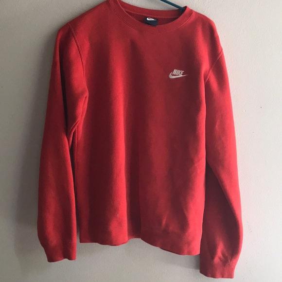 9bf670602 Nike red no hood sweatshirt. M_5b255d5dfe5151045c49cb9c
